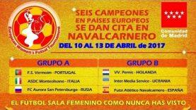 Final I European Women´s Futsal – ADC Montesilvano – Atletico Navalcarnero