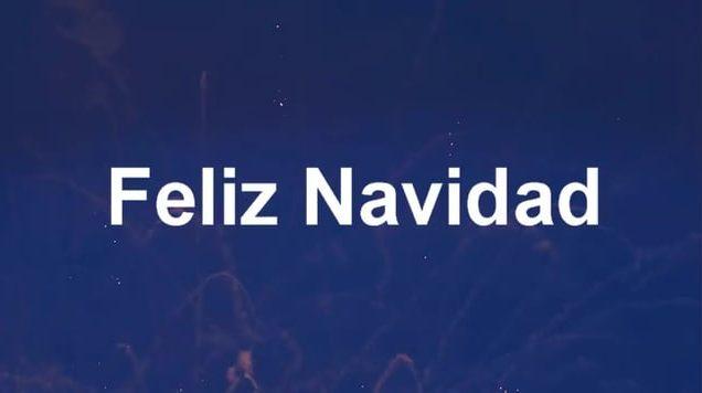FELICES FIESTAS DE NAVIDAD Y AÑO NUEVO
