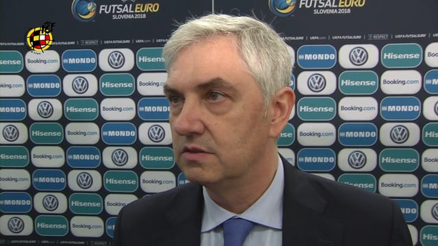 VALORACIONES FINAL EUROFUTSAL 2018
