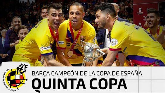 Final de la Copa de Españade Malaga 2020